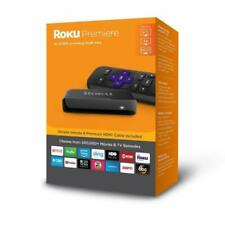 Roku Premiere 3920RW 4k Media Streamer - Black