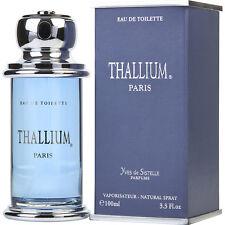 THALLIUM PERFUME*MEN'S COLOGNE 3.3 oz EDT NEW IN BOX*FOR MEN* FRAGRANCE