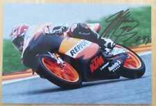 Autógrafo Original MARC MARQUEZ MOTO GP COA Impresionante !!!!