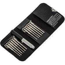 deleyCON mini Schraubendreher Set 13-teilig Präzisions Werkzeug Bitset Bitsatz