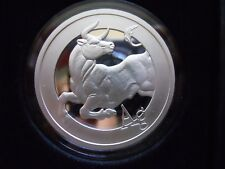 2018 Silver Shield 2 oz Silver Proof Bull MiniMintage