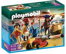 PLAYMOBIL 5136 Pirates commandant avec Armory ** grand cadeau **