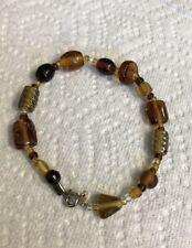 Glass Beaded Jewelry Bp-76 Hand Crafted Bracelet Art