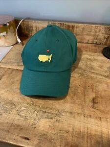American Needle Green Masters Hat (Adjustable, Flex-Fit, NWT)
