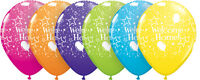 """6 WELCOME HOME 11"""" Latex Balloons (Qualatex) Party/Decoration (Helium)"""