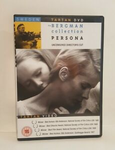 Persona (1966) DVD Bibi Anderson Liv Ullmann Eng-Sub, UK R0 DVD