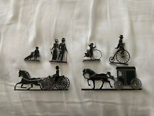 "Shelia'S Shadow Play 1996 ""Victorian Afternoon"" plus horse and buggy."
