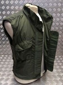 Genuine Military Issue 1980's IDF Flak Vest Cover Overdyed OD Green Airsoft