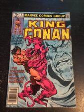 King Conan#5 Awesome Condition 6.0(1981)Buscema Art!!