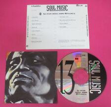 CD Compilation Le Star Degli Anni Ottanta Soul Music JAMES BROWN no lp mc(C45)