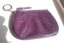Coach Soho purple patent leather mini skinny 42050