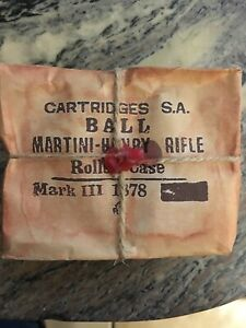 Reproduction Martini Henry Packet