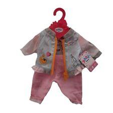 Zapf 824542 Blau / Rosa Baby born Puppenkleidung 43 cm Freizeitanzug