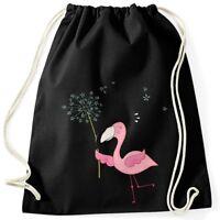 Turnbeutel Flamingo Pusteblume Dandelion 100% Baumwolle Moonworks®