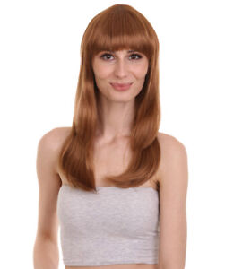 Women Glamour Collections Sexy Cosplay Party Light Brown Wig HW-695 (Adult)