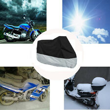 Motorcycle Cover Waterproof Bike Protector 4XL Dust Rain Snow UV Outdoor Scooter
