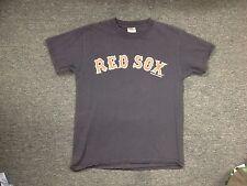 LIGHTLY WORN  MLB RED SOX JOHNNY DAMON JERSEY T-SHIRT SIZE S