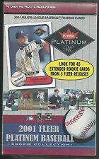 2001 Fleer Platinum RC Rookie Collection MLB Baseball Box