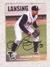 Toronto Blue Jays Jonathan Jones Signed 2011 Lansing Lugnuts Card Auto
