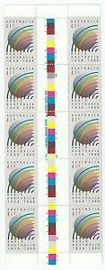 1989 '50TH ANNIVERSARY RADIO AUSTRALIA' - GUTTER STRIP of 10 x 41c MNH STAMPS