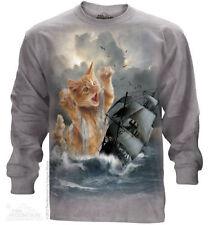 Long Sleeve Plus Size 100% Cotton T-Shirts for Women