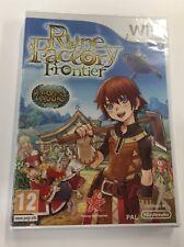 JEU Nintendo WII Rune Factory Frontier / Harvest Moon  neuf