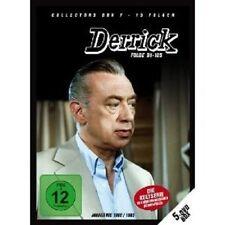 DERRICK COLLECTORS BOX VOL 7 (FOLGE 91-105) 5 DVD NEU