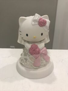 Hello Kitty Precious Moments: Bride Porcelain Figure Sanrio Brand New