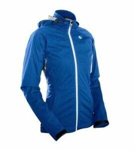 Sugoi Icon Jacket Womens Medium True Blue Cycling NEW