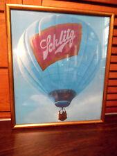 Schlitz Beer Framed Photo Hot Air Balloon
