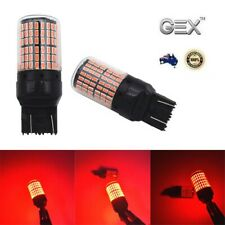 Gex  T20 7443 144 Red LED Canbus  Stop Tail Brake Light Dual Filament 2pc