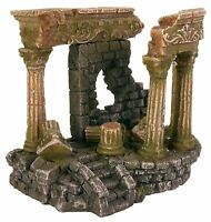 Ancient Ruins Aquarium Ornament Roman Ruin & Steps Fish Tank Decoration
