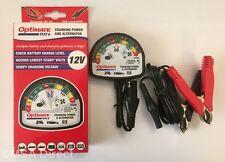 Optimate Test - 12 Volt Batteria e Alternatore Sistema Tester (TS120)