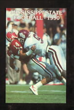 Mississippi State Bulldogs-1990 Football Schedule-Deposit Guaranty National Bank