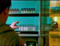 Extraordinary Measures Lab Prop Medical Vile Vaccine Bottle w/ Label MOVIE ITEM