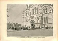 Nicholas II Tsar Alexandra Feodorovna Tsaritsa Romanov Russia Kiev UKRAINE 1896