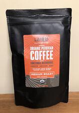 Laird Superfood Organic Peruvian Coffee Medium with Functional Mushrooms 12 Oz.