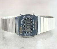 TimeTon GMT 2375 Beltime model 151 LCD digital quartz vintage rare watch 80's