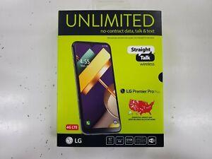 Straight Talk LG Premier Pro Plus, 32GB Black - Prepaid Smartphone - Brand New