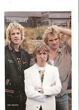 The POLICE Andy in white magazine PHOTO/Poster/clipping 10x7 inches