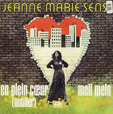 JEANNE-MARIE SENS EN PLEIN COEUR / MELI MELO FRENCH 45 SINGLE