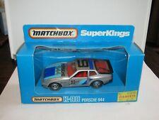 Matchbox Super Kings K-98 Porsche 944 Porsche 944 9 Tampo MIB