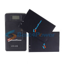2x 2950mAh battery+Wall Charger For TracFone LG Grace LTE L59BL Phone