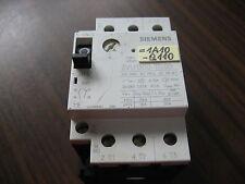 Siemens 3VU1300-1TL00 Manual Motor Starter (6 to 10 Amp)