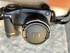 HP PhotoSmart 945 5.3MP Digital Camera with zoom lens-2GB SD card- Black