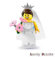 Schwarz Pferdeschwanzfrisur Hochzeit Minifig Baukästen & Konstruktion Lego Braut & Bräutigam mit LEGO Bau- & Konstruktionsspielzeug