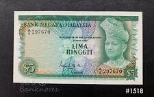Malaysia - 1st $5 ( Prefix A4 ) | AU