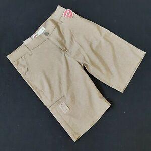 "Levi's Woman's 511 Slim Heather Beige Tan Shorts Size 16 REG Waist 28 (30"") New"