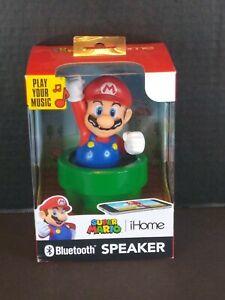 Super Mario iHome Bluetooth Speaker Nintendo (Brand New)