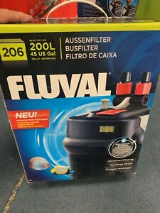 Fluval 206 Performance Canister Filter Fresh or Salt Water Tanks New
